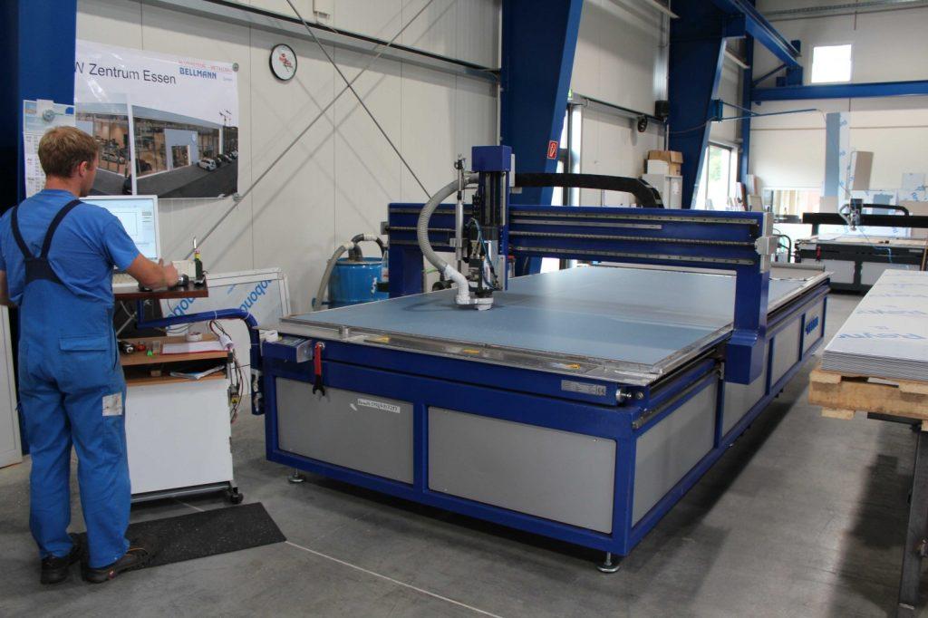 Maschinenpark: CNC-Portalfräse P5000-2