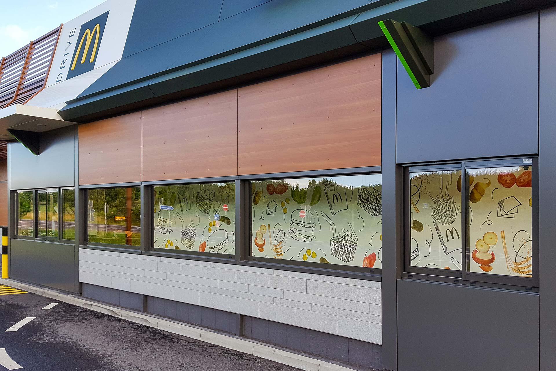 Neubau McDonald's Restaurant Alleringersleben