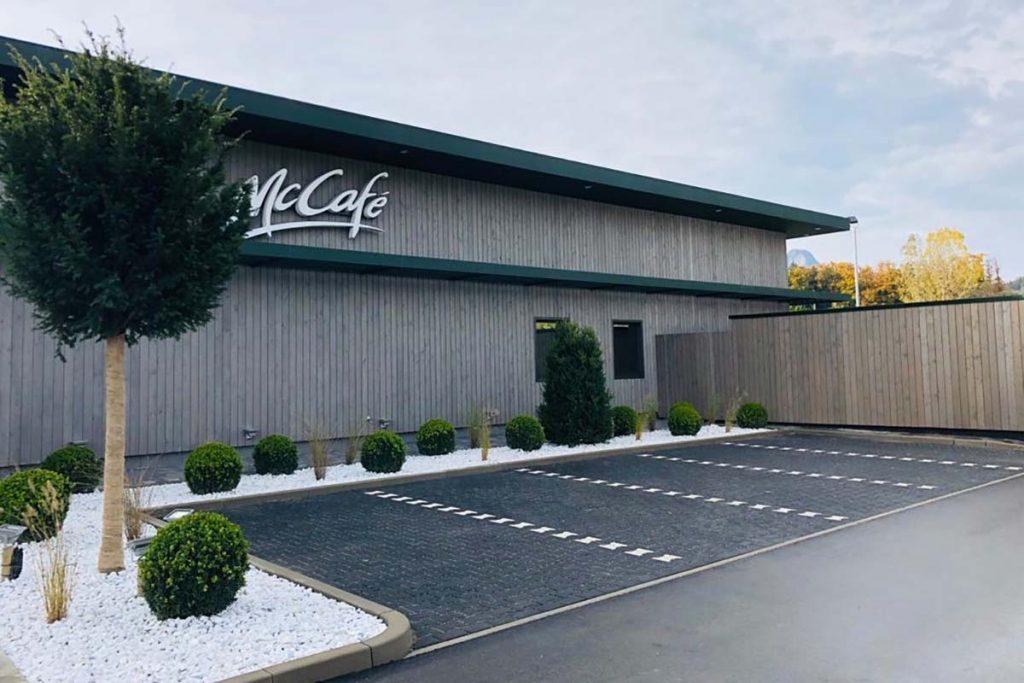 Projekte: Neubau McDonald's Restaurant Kiefersfelden