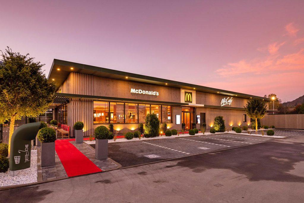 Neubau McDonald's Restaurant Kiefersfelden