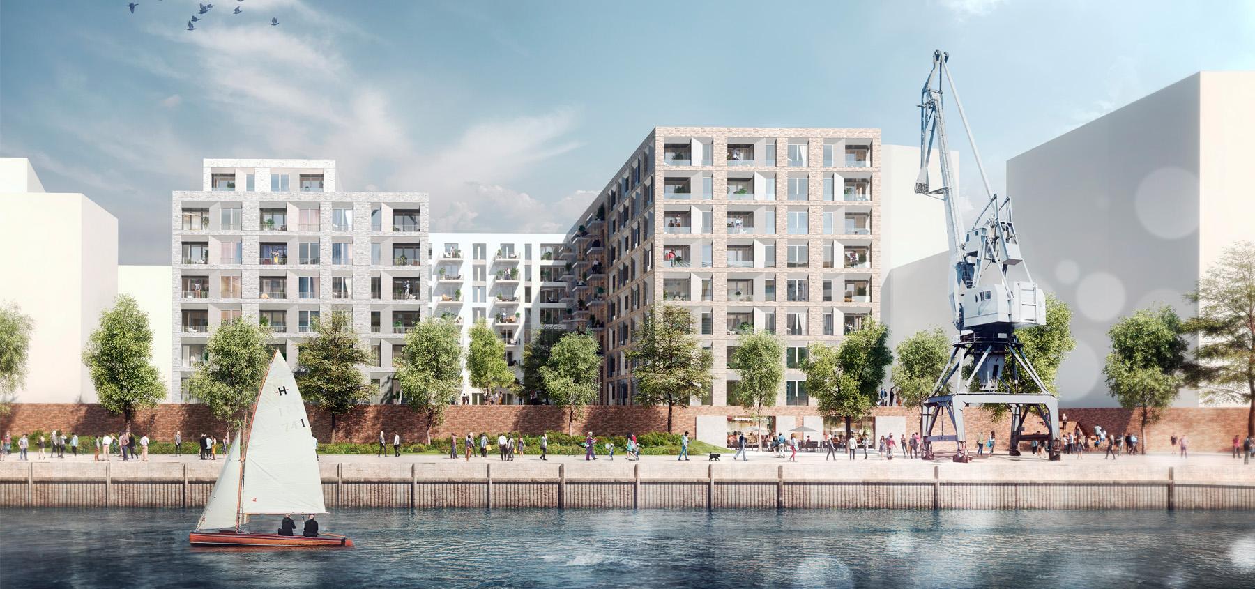 Wohn- und Geschäftsgebäude Hamburg (Bildquelle: Schenk-Waiblinger Architekten)
