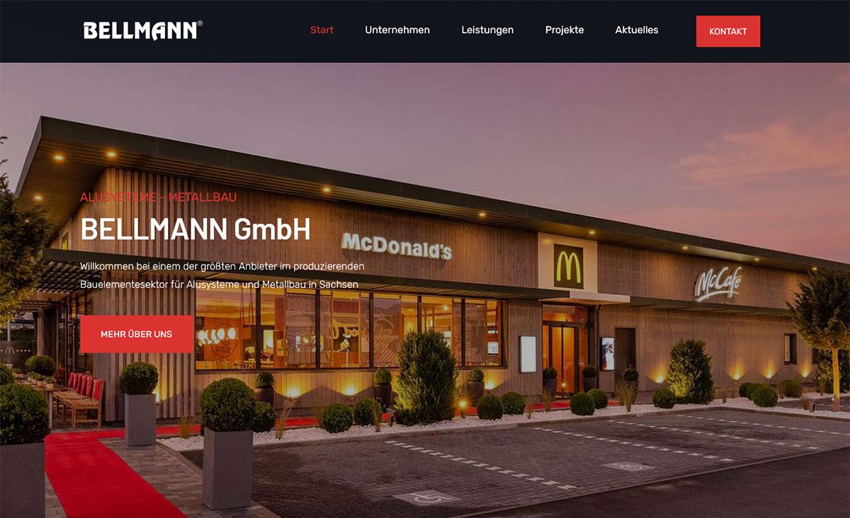 Die neue Website von BELLMANN