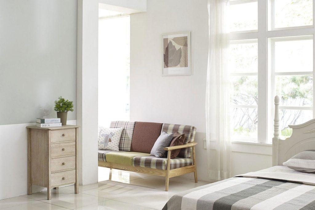 Bauelemente von BELLMANN: Fenster in einem Schlafzimmer