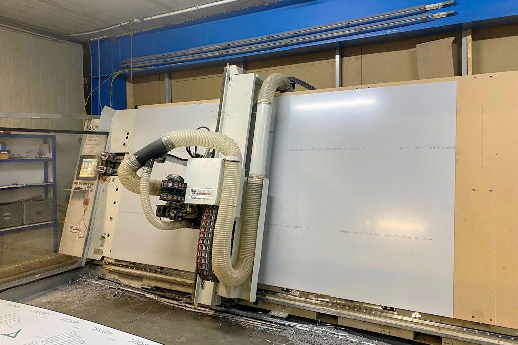 Maschinenpark: Vertikales Bearbeitungszentrum Alu Ranger 6321 V Groove