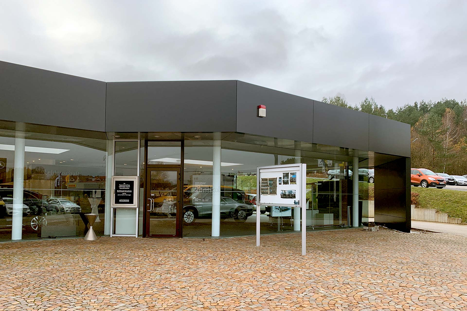 Projekte: Mercedes-Benz-Autohaus in Pegnitz (2019)
