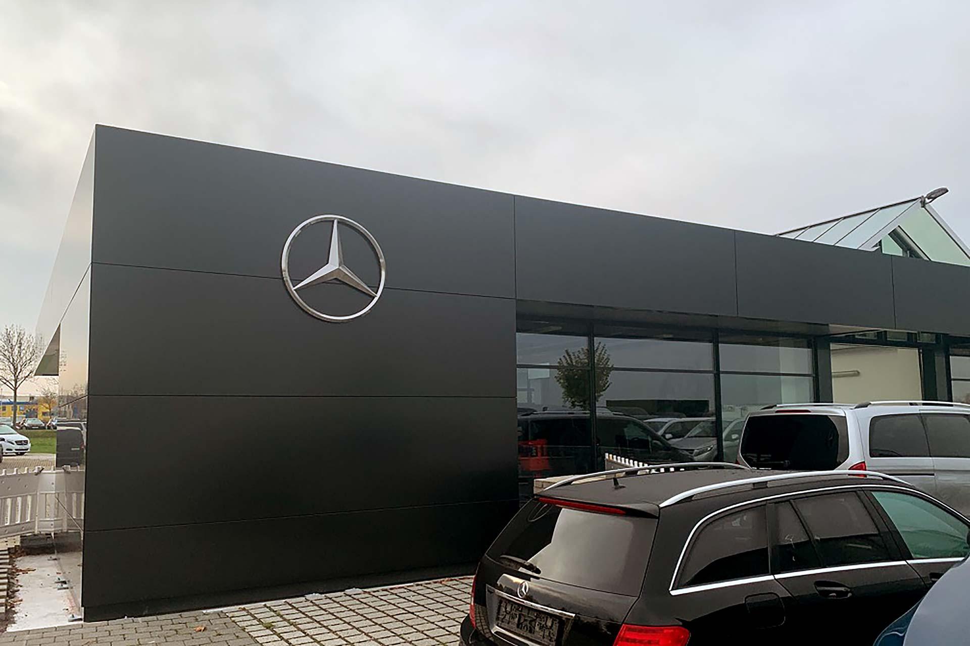 Mercedes-Benz-Autohaus in Chemnitz (2019)