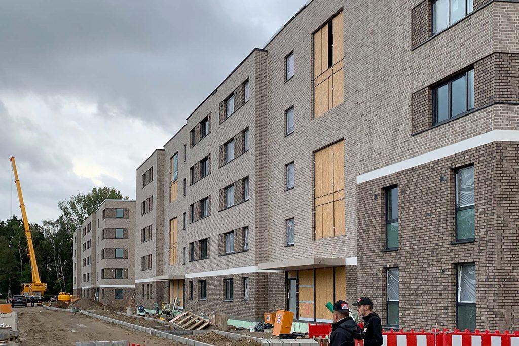 Projekte: Wohngebäude in Hamburg (2020) - Fenster und Fassaden
